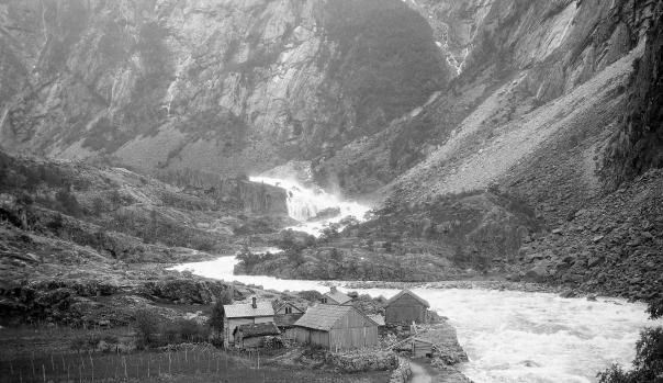 Fotograf ukjent, NVEs fotoarkiv (samlingen Undersøkelse av Norges vannkraft)