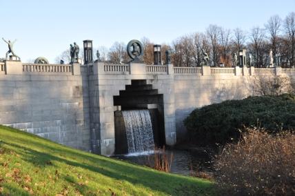 Gangbroen ved Øvre Frognerdam - Helena Nynäs - NVE