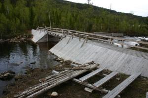 Millavassdammen 2 - Foto Tore Olav Sandnæs, NVE