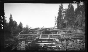 Sootkanalen - Foto Joakim M.J. Wik, 1924