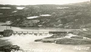 Glomfjord - dam Storglomvatnet - Statkraft