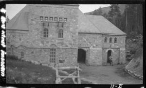 Fasaden mot sør - 1929 - Conrad Holteng - NVE