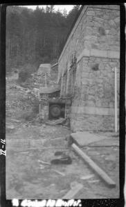 Rørinnføring til kraftstasjonen - Conrad Holteng - 1929 - NVE