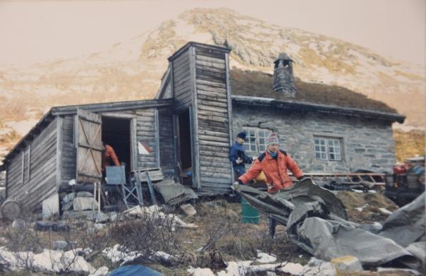 Kraftledning Tafjord - Nørve