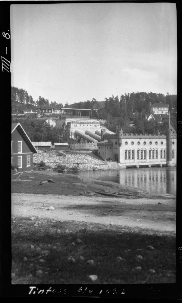 Foto 1923: Olav Skjørten/NVE