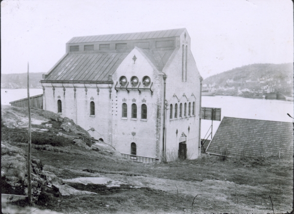 Stub transformatorstasjon, ved Sandefjord