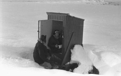 Snømåling på Hardangervidda 1968