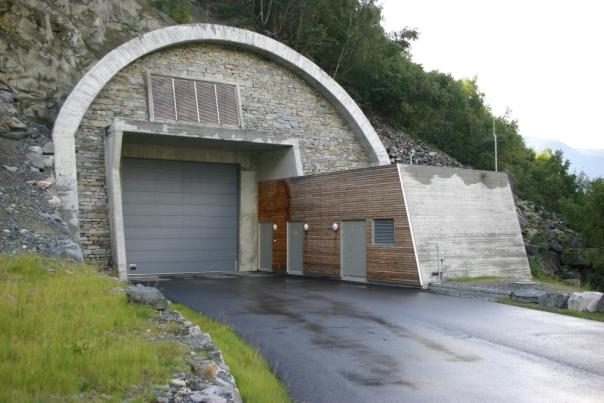 Tyin kraftverk portalbygg a