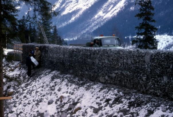 Sikring mot steinskred, Tveitolia, Rjukan