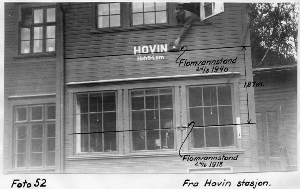 Flom 1940, Hovin