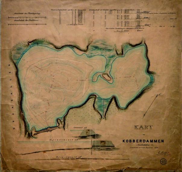 Kart Kobberdammen 1872.jpg
