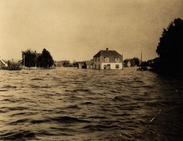 Storflommen i Lillestrøm 1927
