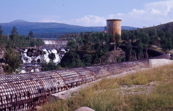 Luostejok kraftverk