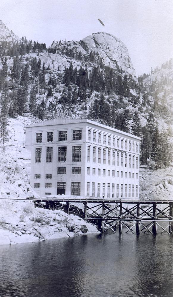 Kraftstasjonen Big Creek I.
