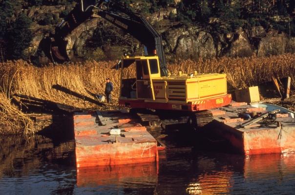 Seutelva, forbedret pontong