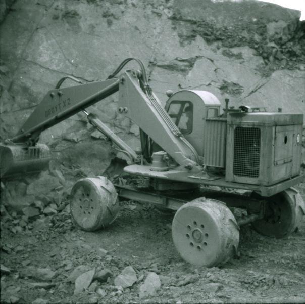 Steinbrudd, Solør ca 1961